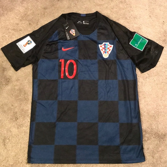more photos f1906 c7764 Luka Modric Croatia World Cup Jersey New Size L